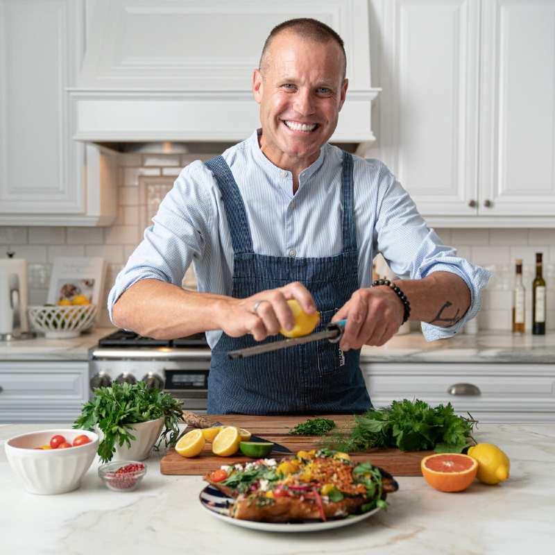 Image of successful chef and businessman, Brian Malarkey