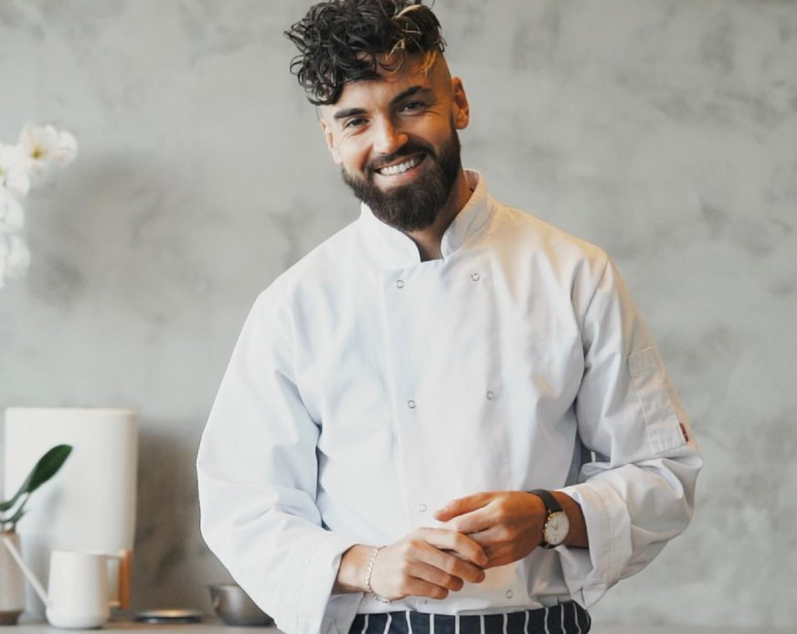 Image of one of the prominent British chefs, Gaz Oakley