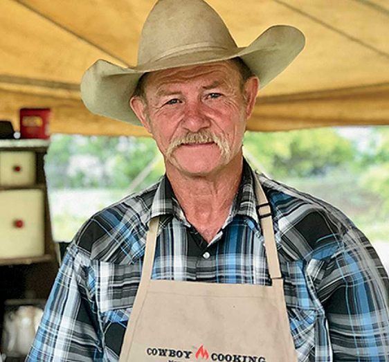 Image of famous cowboy cook, Kent Rollins