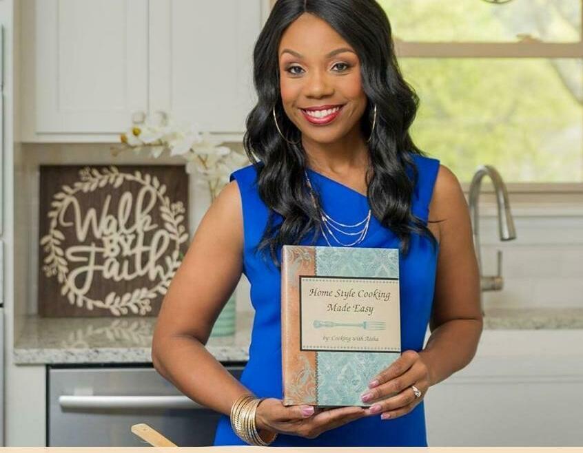 Aisha Williams cooking recipe book
