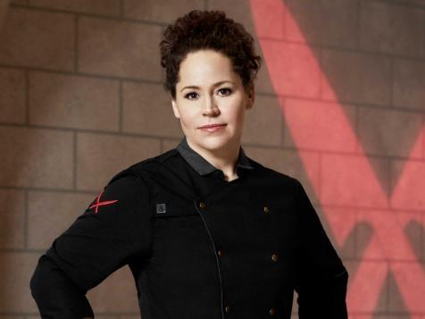 Chef Stephanie Izard in her chef uniform