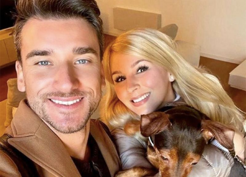 Image of Italian chef, Damiano Carrara and his girlfriend