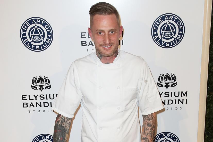 Chef Michael Voltaggio in an event