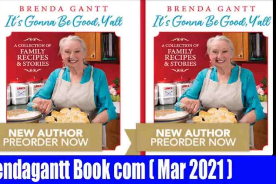 Brenda Gantt cookbook