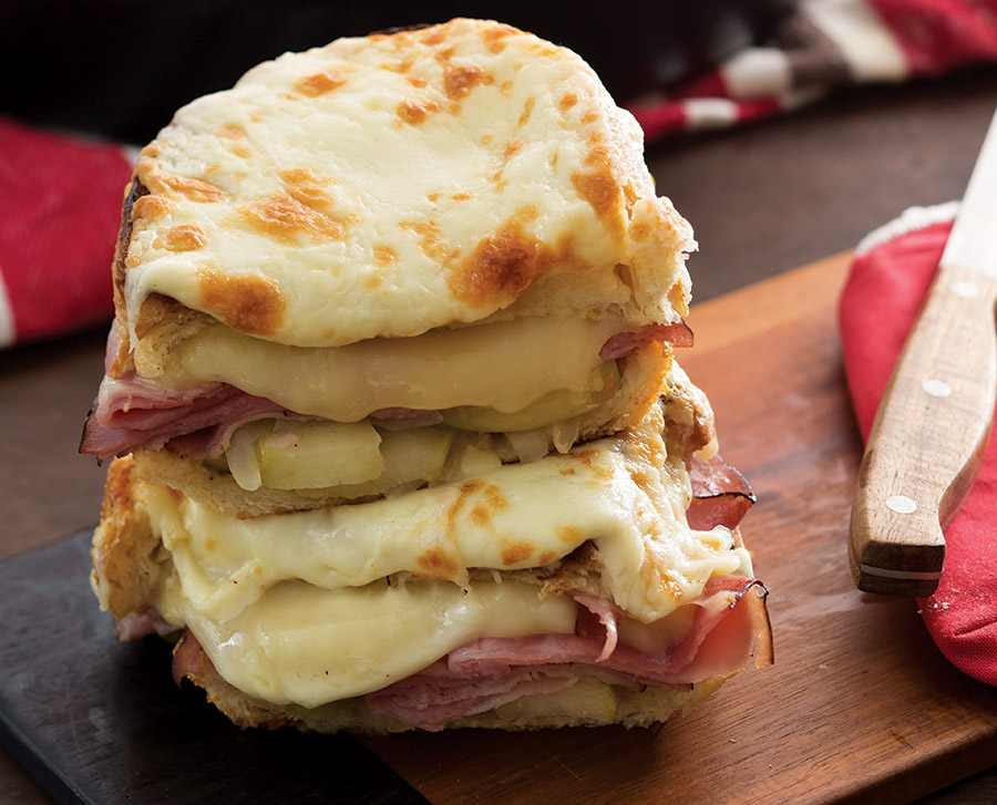 Toasted Ham Cheese Sandwich by Brenda Gantt