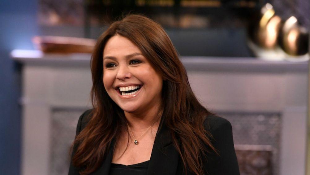 A celeb chef, TV show host, Rachel Ray