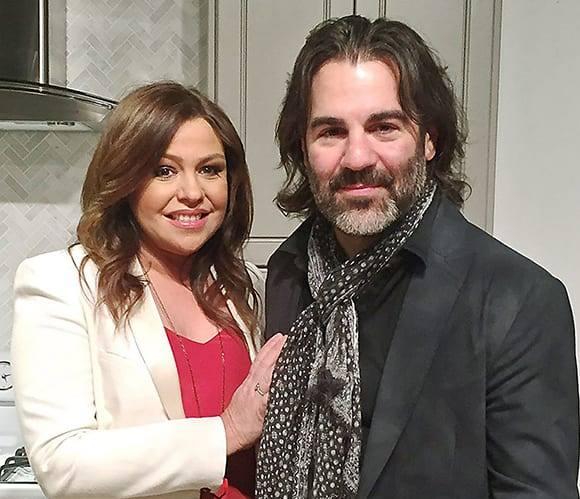 Rachel Ray with her husband, John