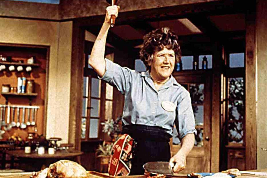 A professional chef, Julia Child